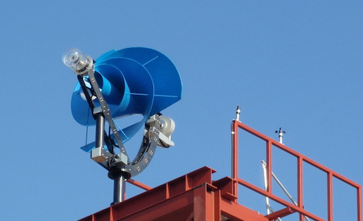 Jetson Green Rooftop Mounted Wind Turbines That Make