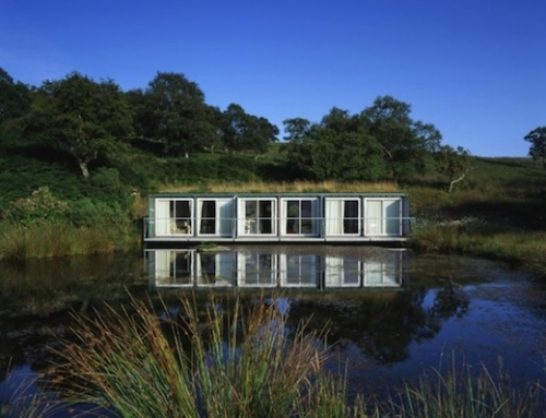 Shipping Container Artist Retreat