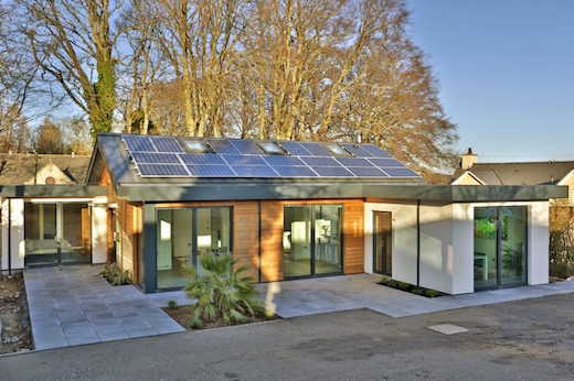 Green And Sustainable Prefab Home