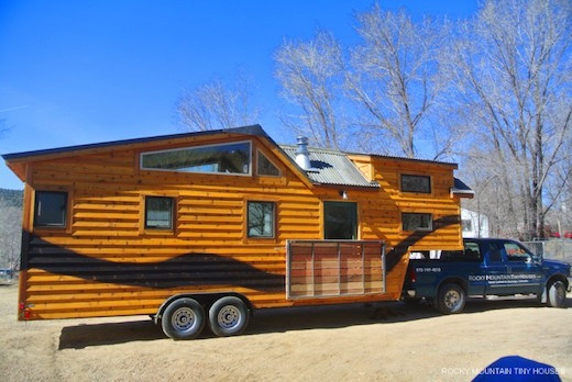 Jetson Green Incredibly Functional Towable Tiny House