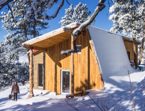 Passive Home Built Solely From Regenerative Materials