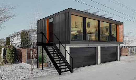 The Canada Based Firm Honomobo Has Recently Unveiled A New Line Of Prefab Shipping Container Dwellings They Are Offering Living Es That Can Serve As