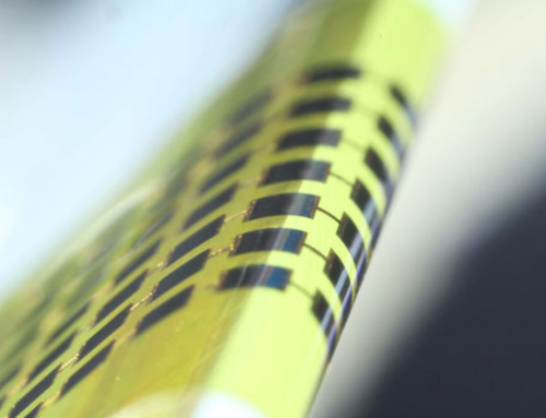 Super-Thin Solar Cell