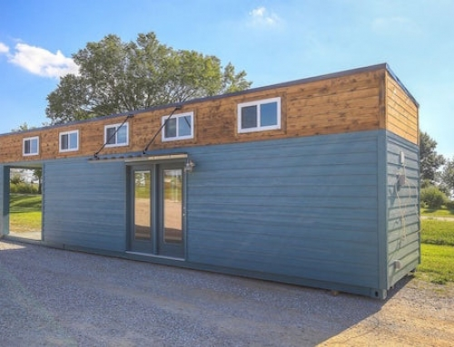 Cozy Shipping Container Tiny Home