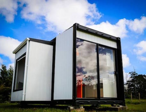 Clever Tiny Shipping Container Home