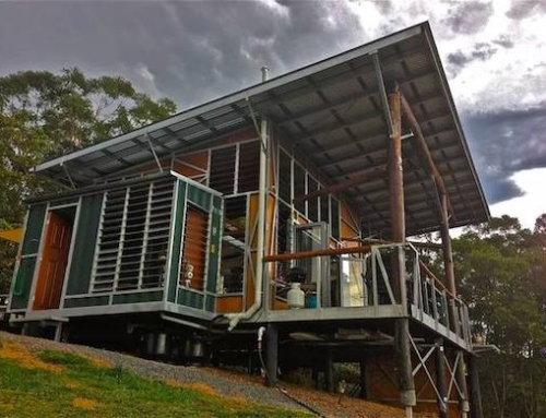 Recycled Shipping Container House