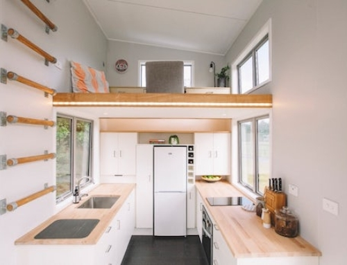 The Millennial Tiny House is Full of Space Saving Ideas
